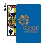 Custom Baronet Royal Blue Bridge Size Playing Cards w/Regular Face