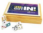 Custom Wood Cache Dominoes Game Double 6