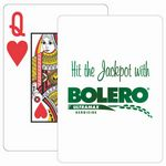 Custom Baronet White Poker Size Playing Cards w/Super Pip Face