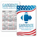 Custom Caldex Business Card w/ Vertical Calendar w/1 Color on 2 Sides