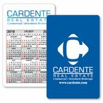 Custom Caldex Business Card w/ Vertical Calendar w/1 Color on 1 Side