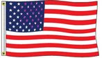 Custom Stock US Polyester Flag (3'x5')