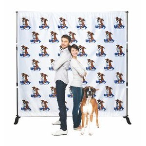 Backdrop Step and Repeat Banner Stand w/Banner