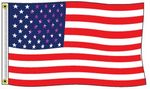 Custom Stock US Polyester Flag (2'x3')