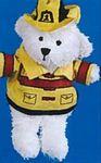 Custom Fireman Accessory for Stuffed Animal