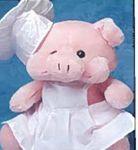 Custom Chef Hat for Stuffed Animal (X-Small)
