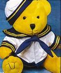 Custom Sailor Accessory for Stuffed Animal