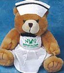 Custom Nurse's Uniform for Stuffed Animal (Large)