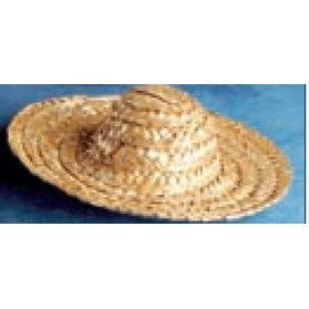 Straw Sombrero Hat Accessory for Stuffed Animal