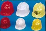 Custom Plastic Construction Hat Accessory for Stuffed Animal (Small)