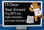 Custom Screen Cleaner Tee Shirt for Stuffed Animal