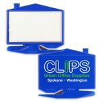 Custom House Business Card Zippy Letter Opener w/ Staple Remover (Imprinted)