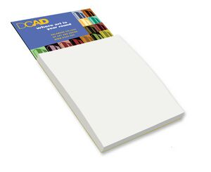 Magnetic Note Pad – Blank Sheets - Full Color