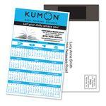 Custom Magnetic Stick-Up Card - Calendar - Full Color