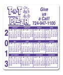 Custom Magnet - Calendar Rectangle 3 Day - One Color