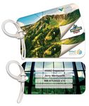 Custom Personalized Bag & Luggage Tag - Rectangle RC - Full Color - Poly Laminated