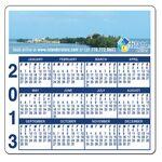 Custom Magnet - Calendar Rectangle 3 Day - Full Color