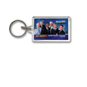 Key Tag - Rectangle w/Tab - Full Color