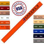 Custom Made In The USA Carpenter 700 Flat Medium Lead Solid Pencil