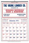 Custom Commercial Apron Calendar w/ Memo Pad (After 5/1)