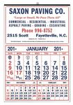 Custom Commercial 12-Sheet Calendar w/3 Month Display (Thru 4/30)