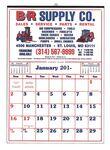 Custom Commercial 12-Sheet Easy-to-Read Calendar (Thru 4/30)