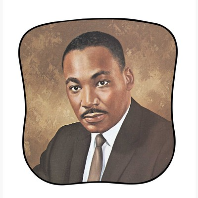 Dr. Martin Luther King Pictorial Fans