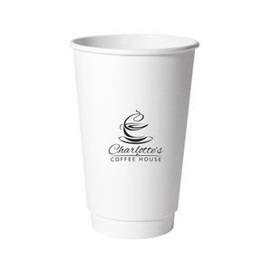 16 Oz. Double Wall Insulated Paper Cup (Petite Line)