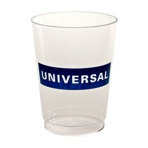10 Oz. Hard-Sided Plastic Tall Tumbler Cup (Petite Line)