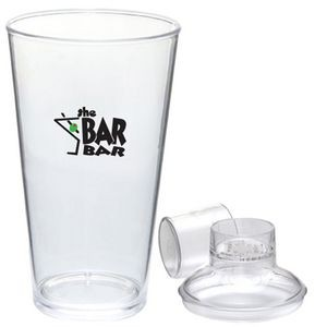 15 Oz. Hard-Sided Heavyweight Plastic Pint Tumbler Cup