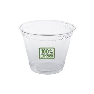 9 Oz. Soft-Sided Plastic Greenware Squat Cup (Petite Line)