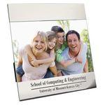 Custom Frame - Shiny Aluminum Picture Frame for 4