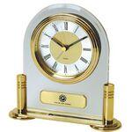 Custom Clock - Brass & Acrylic Desk Alarm Clock