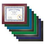 Custom Certificate Holder - Leatherette Certificate Frame