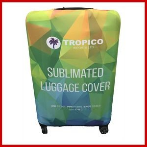 Dye Sublimated Luggage Cover