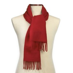 Red Soft As Cashmere Scarf