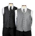 Custom Men's Custom Woven Silk Vest (S-3XL)