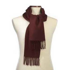 Maroon Soft As Cashmere Scarf