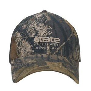 Camo Unstructured Cap
