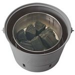 Custom Coleman Party Pail Charcoal Grill w/Carrying Case