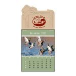 Custom Sportsmen Full Color Press-N-Stick Calendar