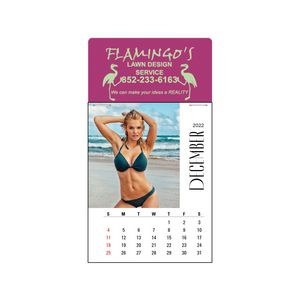 Sunshine Girls Full Color Press-N-Stick Calendar