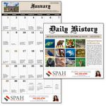 Custom GoodValue Daily History Stapled 2019 Calendar