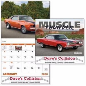 Good Value® Muscle Thunder Calendar (Stapled)