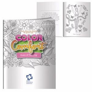 BIC Graphic® Adult Coloring Book - Hues of Healing (Breast Cancer Awareness)