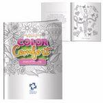 Custom Adult Coloring Books - Hues of Healing (Breast Cancer Awareness)