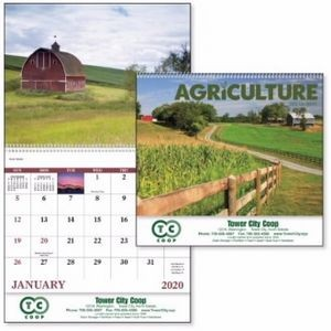 Good Value® Agriculture Calendar (Spiral)