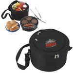 Custom Koozie Portable BBQ w/Cooler Bag