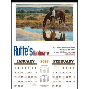 Triumph® American West By Tim Cox Calendar