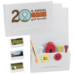 "BIC Graphic® 4-2-1 Golf Tee Packet w/ 2 3/4"" Tees"